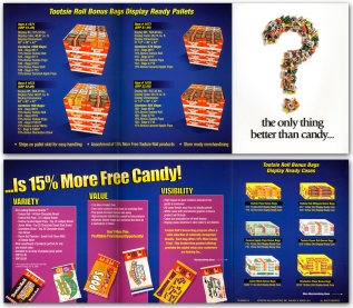 Tootsie Roll Co. Packaging &Collateral
