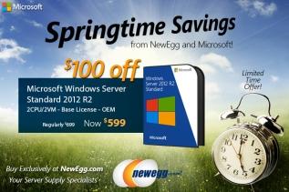 Windows Server 2012 Discount Campaign onNewegg